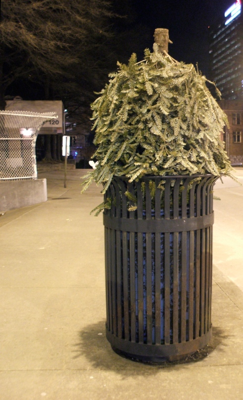 Trash tree
