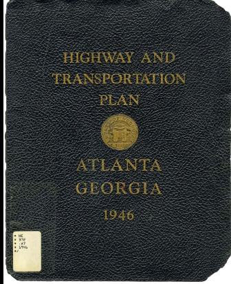 Highway and transportation plan cover