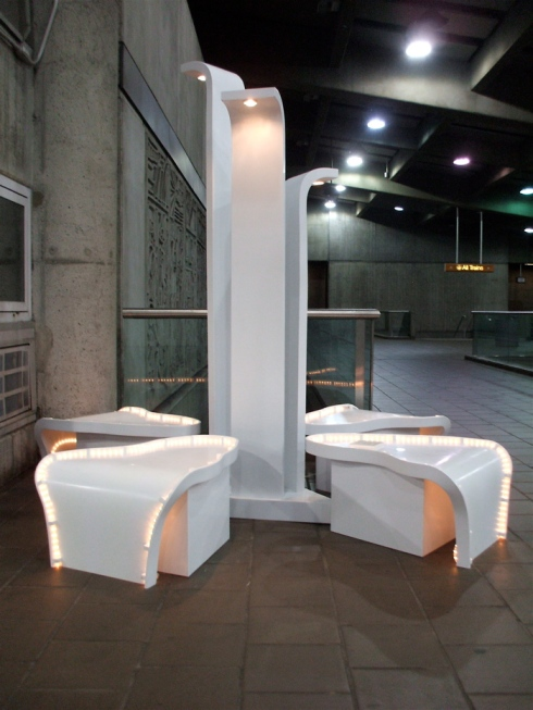 "Tae Jun Park's ""Seating Bench 01"""