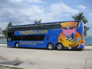 Megabus double decker