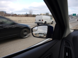 Flat tire at Exit 87